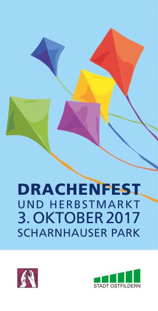 Postkarte Drachenfest 2017 Titel